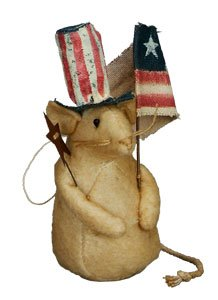 Primitives By Kathy Kari Emerson Be Free Patriotic Mouse