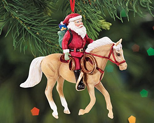 BREYER ★ SANTAS DELIVERY COWPONY ORNAMENT ★ 2015 HOLIDAY HORSE ★ LIMITED EDITION