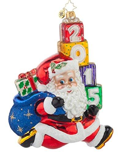 Christopher Radko Jolly Leaping Christmas Ornament