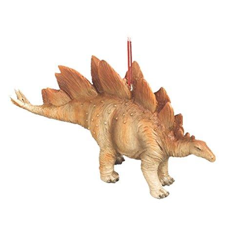 Stegosaurus Jurassic Dinosaur Resin Stone Christmas Tree Ornament
