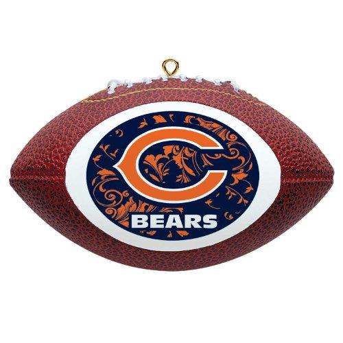 NFL Chicago Bears Mini Replica Football Ornament