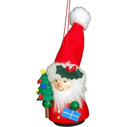 "15-0400 – Christian Ulbricht Ornament – Santa – 5″""H x 2″""W x 2″""D"