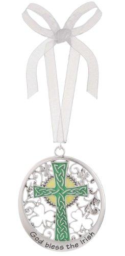 Celtic Cross Ornament From Ganz – God Bless The Irish