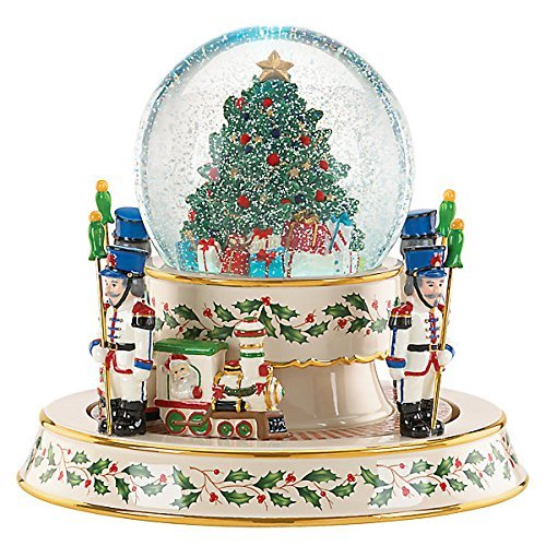 Lenox Holiday Train Snowglobe Centerpiece