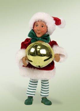 "7″ Kindles ""Dingaling with Jingle Bell"" Elf Bendable Poseable Christmas Figure"