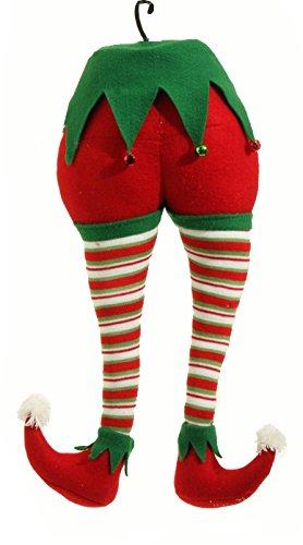 RAZ Imports – Peppermint Toy – 20″ Christmas Elf Christmas Tree Ornament