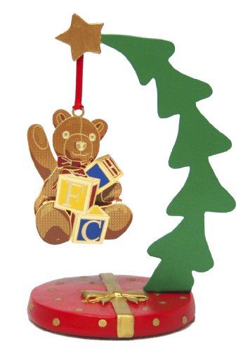 ChemArt Metal X-mas Tree with Poly Base  Ornament