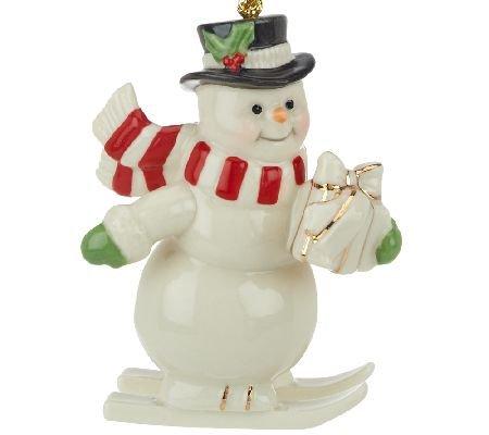 Lenox Snowman Porcelain Ornament