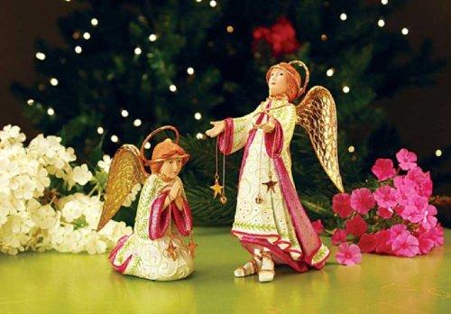 Patience Brewster Nativity Angel Figure, 2 Asst 2012