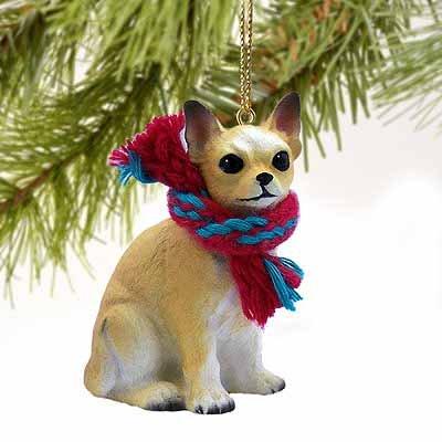 Chihuahua Miniature Dog Ornament – Fawn
