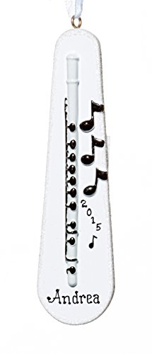 Muscial Christmas Holiday Clarinet Ornament-Free Name Personalized-Shipped In One Day