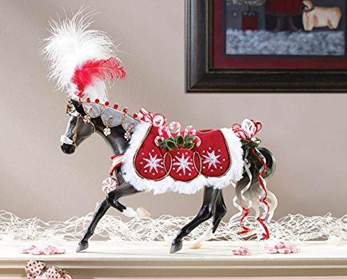 BREYER ★ 2015 HOLIDAY HORSE ★ PEPPERMINT KISS