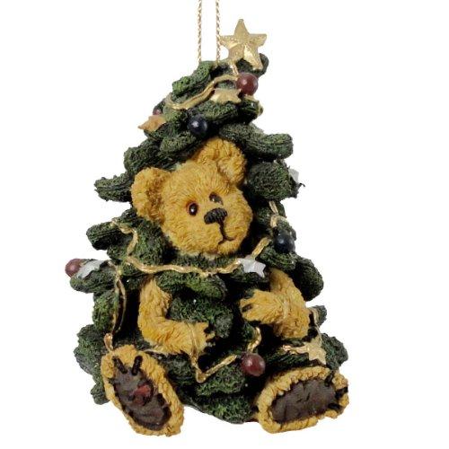 Boyds Bears Resin FRASIER ORNAMENT 83007 RFB Christmas Bearstone New