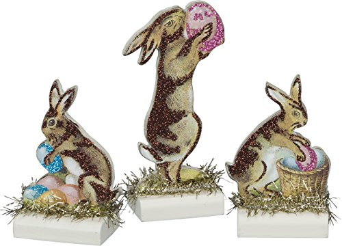 Mini Stand Ups Easter Bunnies Set of 3