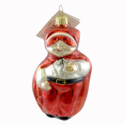 Christopher Radko TRICK OR TREAT Glass Ornament Halloween Devil