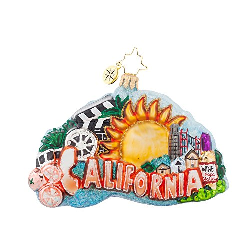 Christopher Radko California, Here I Come Christmas Ornament