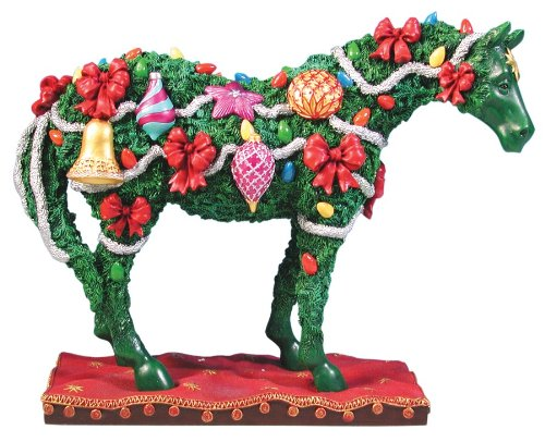 TRAIL OF PAINTED PONIES DECK THE HALLS XMAS PONY