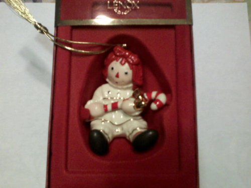 Lenox Raggedy Ann's Sweet Holiday Ornament