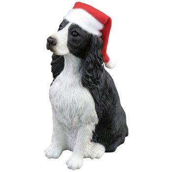 Ornament Springer Spaniel, Black/White