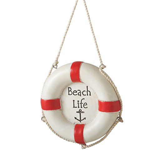"Beach Life"" Life Preserver Ornament"