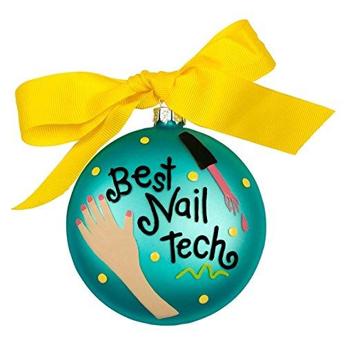 Best Nail Tech Ornament