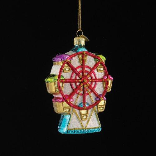 4.5″ Noble Gems Glass Skywheel Ornament