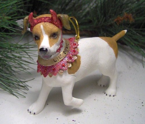 December Diamonds Jack Russell Ornament
