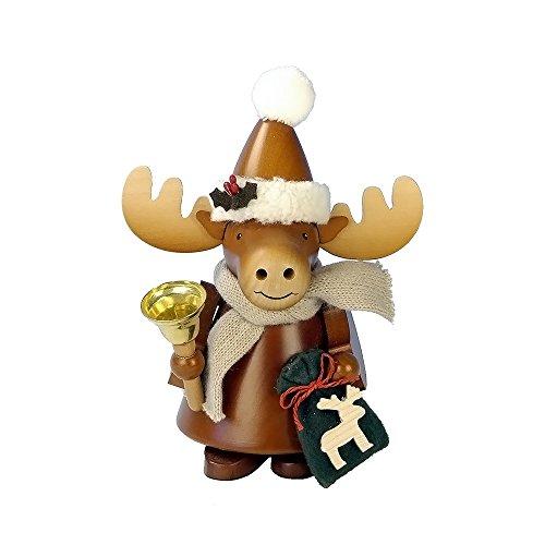 "1-954 – Christian Ulbricht Incense Burner – Elk – 8″""H x 6.5″""W x 4″""D"