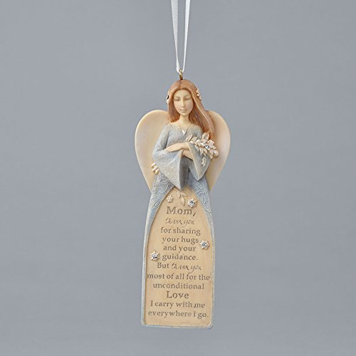 Enesco Foundations Mom Angel Ornament 4.72 IN