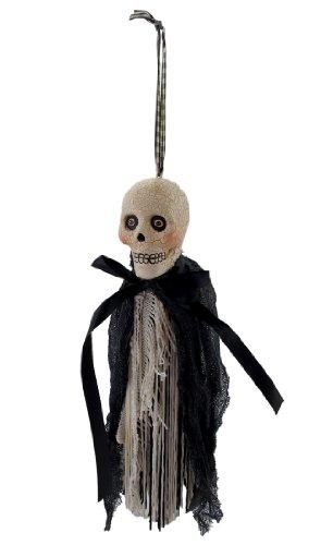 Bethany Lowe `Skulldiggery` Ghoulish Skull Tassel Ornament