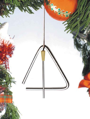 Music Treasures Co. Triangle & Striker Ornament