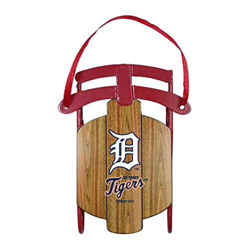 Detroit Tigers – MLB Official 3.5″ Metal Sled Ornament