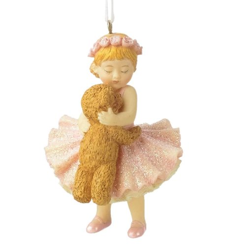Midwest Ballerina with Bear Christmas Ornament 953501