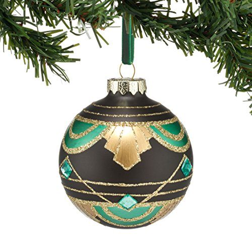 Department 56 Gallery Mixed Pattern Ball Ornament