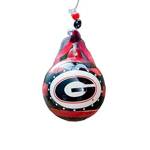 Glory Haus Georgia Stripe Ornament, 4-Inch