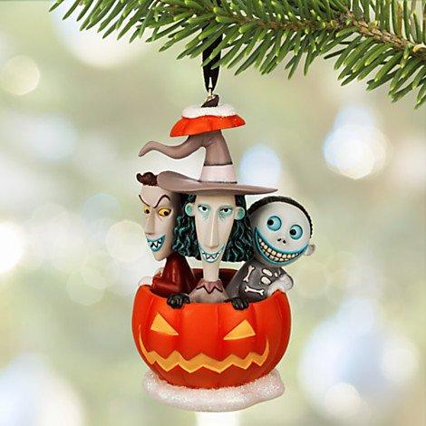 Disneys the Nightmare Before Christmas. Lock, Shock & Barrel Sketchbook Ornament.