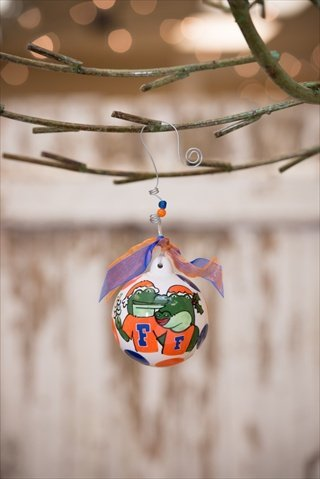 Glory Haus 42000208 Florida Ball Ornament Pack of 2