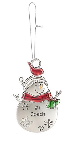 Christmas Snow Pals Ornaments – #1 Coach