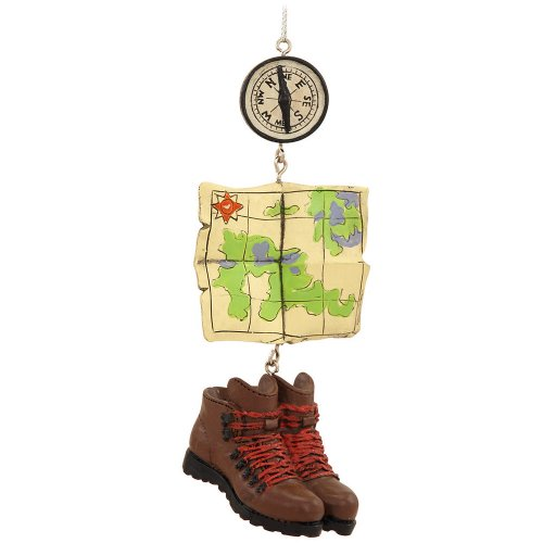 Hiking Compass Ornament