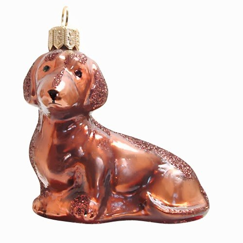 Ornaments to Remember: DACHSHUND Christmas Ornament