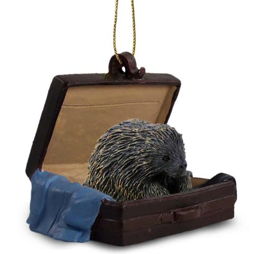 Porcupine Traveling Companion Ornament
