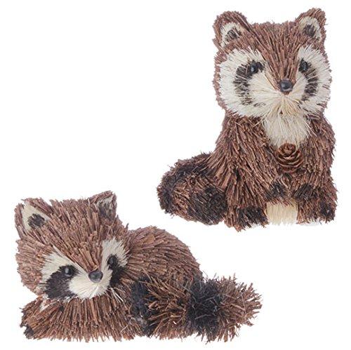 RAZ 4.5″ Raccoon Ornament- Set of 2 Raz Imports Christmas Ornament