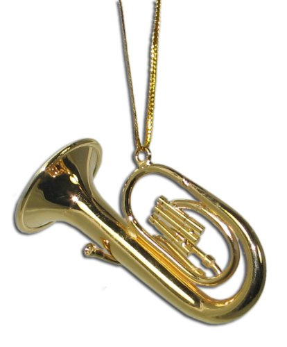 Miniature Baritone Christmas Ornament 2″