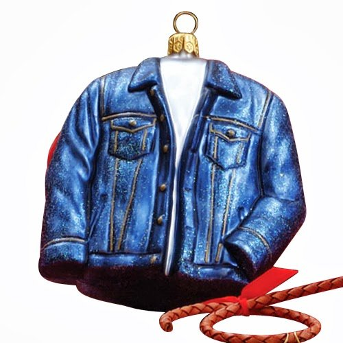 Ornaments to Remember: JEAN JACKET Christmas Ornament