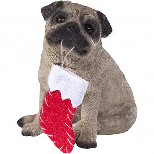 Ornament Pug, Fawn