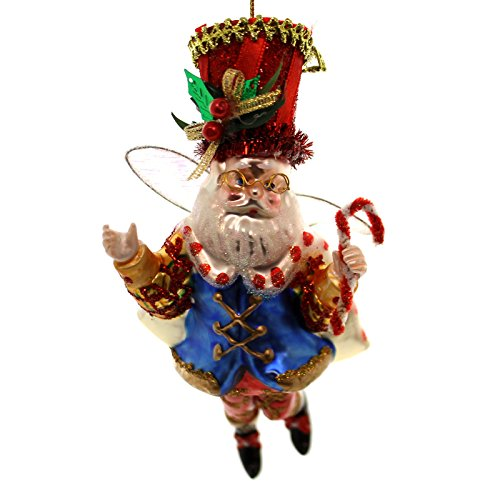 Holiday Ornaments NUTCRACKER BALLET FAIRY ORNAMENT Glass Christmas Limited Edition 750 3644050