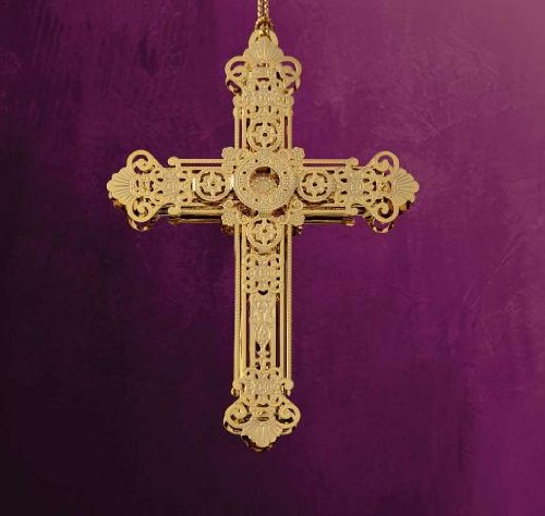 Baldwin Elegent Cross Ornament