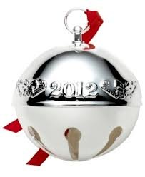 Wallace 2012 Silver-Plated Sleigh Bell