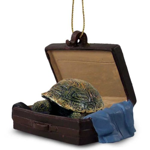 Turtle Traveling Companion Ornament