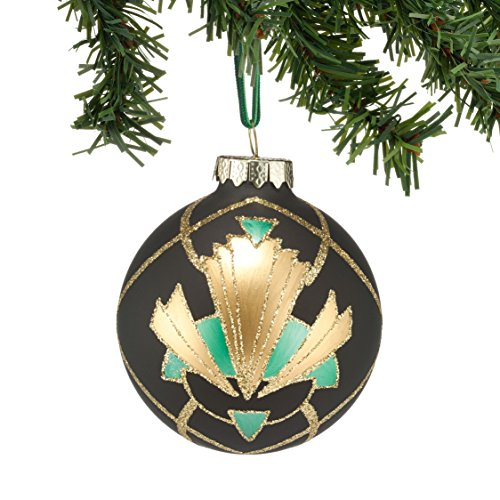 Department 56 Gallery Grid Pattern Ball Ornament